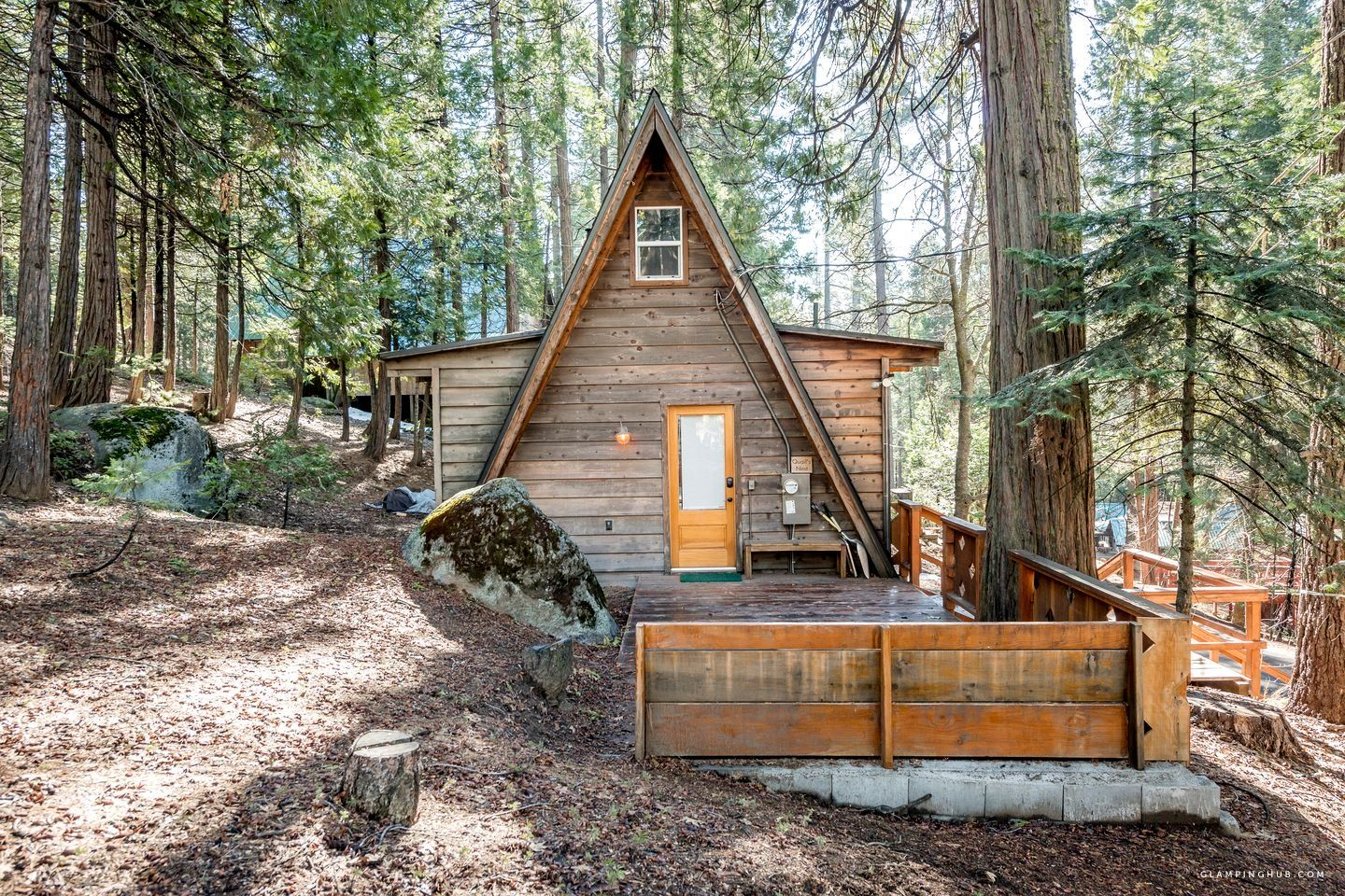 Rustic AFrame Cabin in the Woods near Downtown Shaver