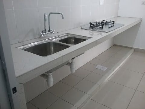Hasil Kerja Membuat Meja Dapur Table Top Di Bandar Teknologi Kajang You