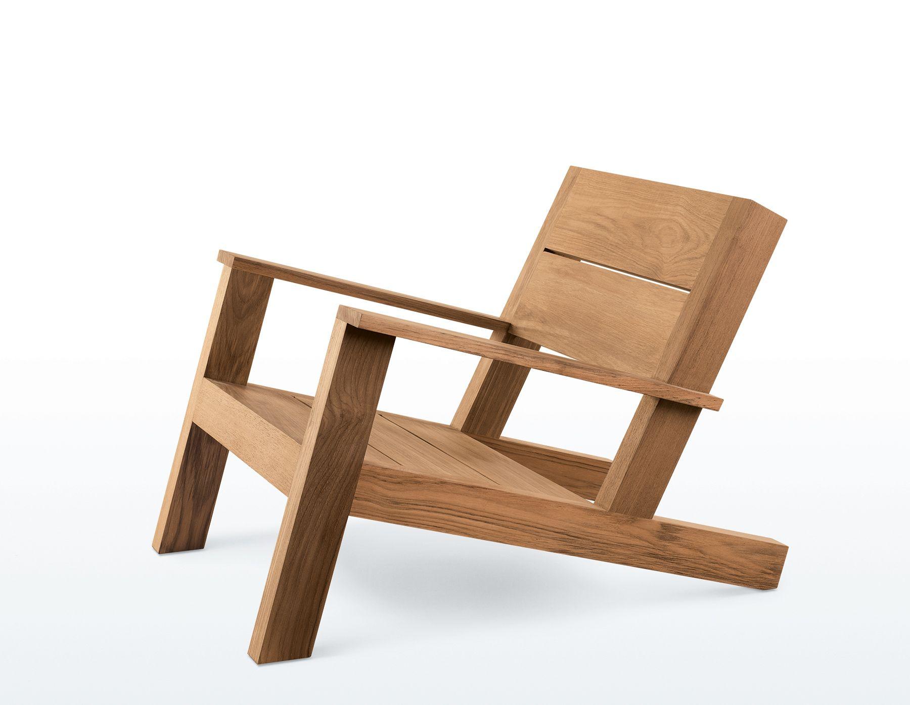 White wooden beach chair - Cabo Beach Chair Furniture James Perse Cabo_beach_chair