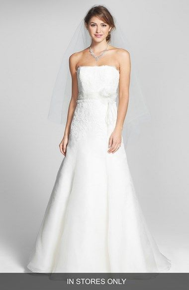 Jenny Yoo 'Lucinda' Lace & Organza Gown (In Store Only) available at #Nordstrom