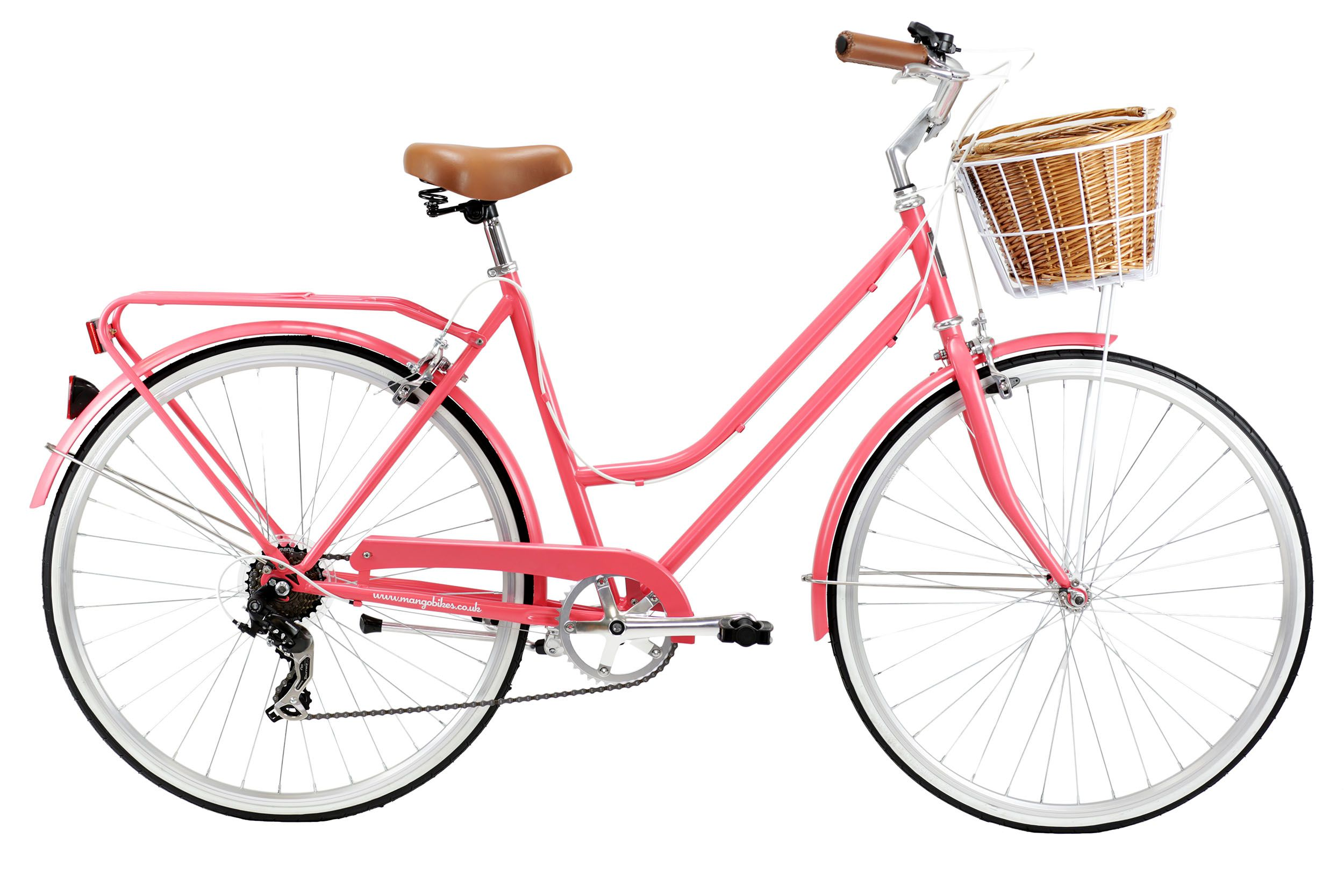 Pink Bike Classic bikes, Comfort bike, Simple bike