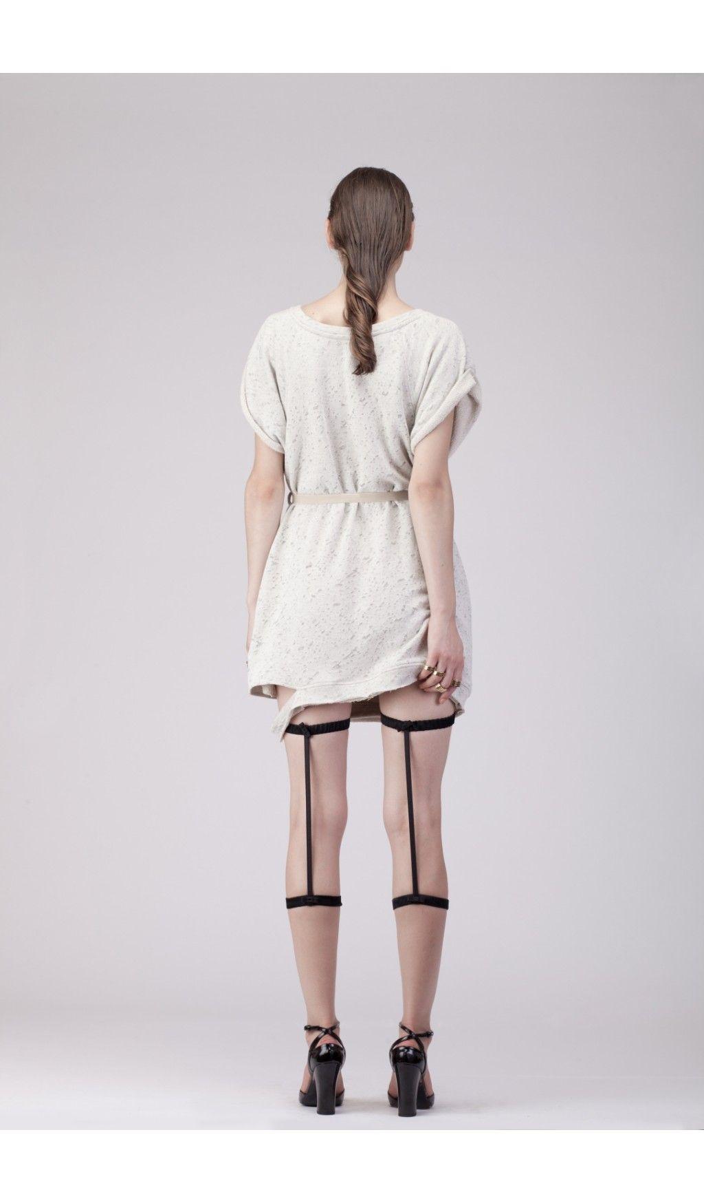 P.O. Dress - Wijde sweater jurk