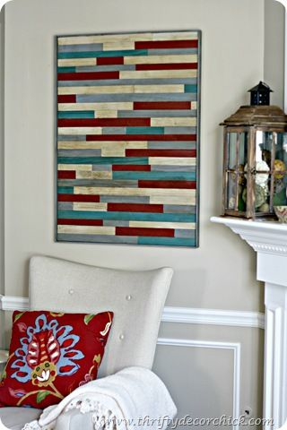 DIY pottery barn wood art