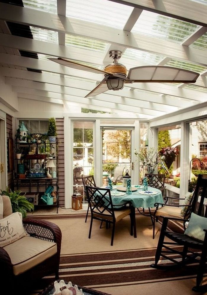 27 Amazing Photos Of Fresh Patio Rooms Ideas: 50+ Dining Room Facing Garden Ideas_9