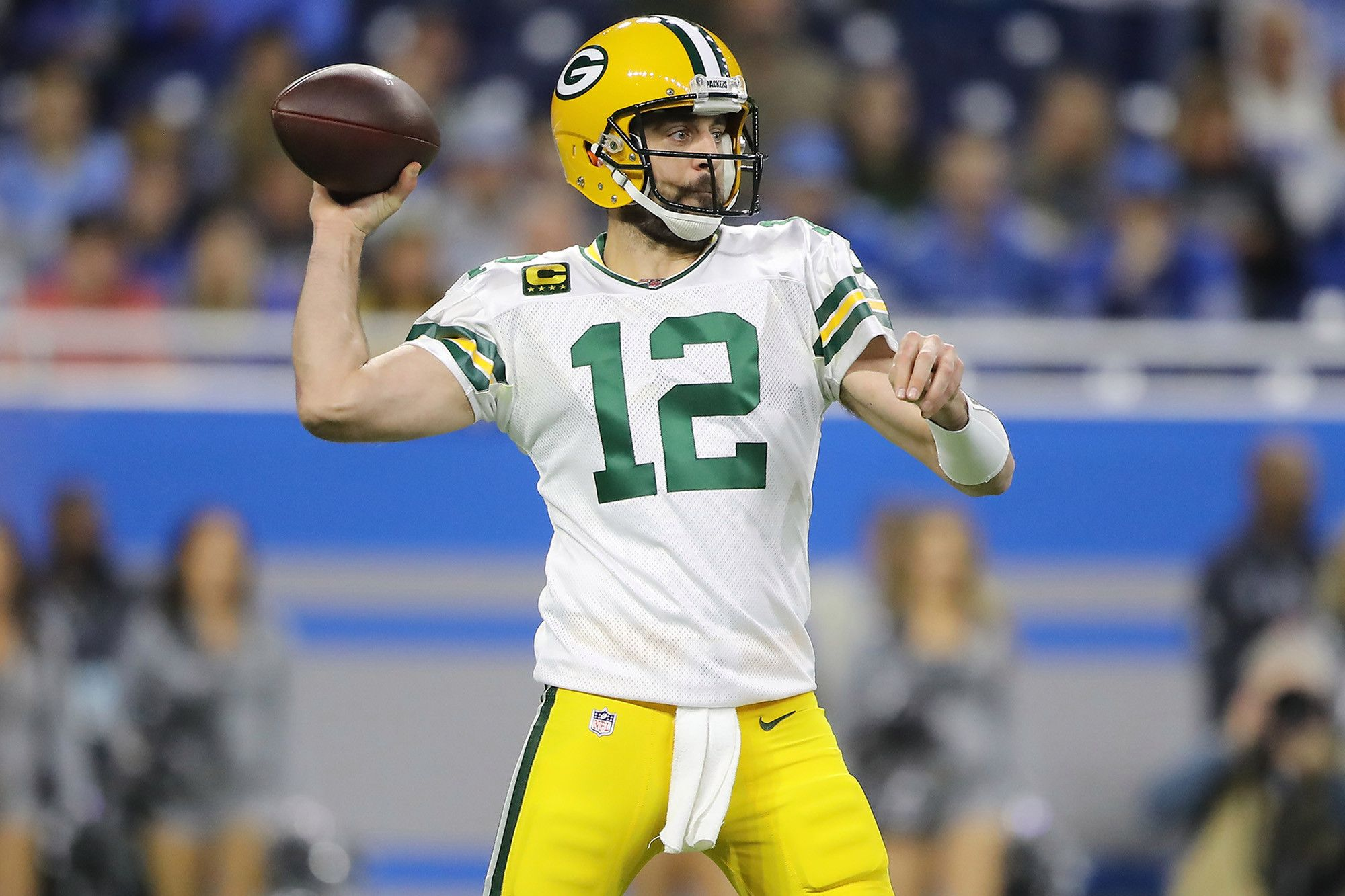 Aaron Rodgers New Packers Reality Is All About Urgency National Football League News Aaron Rodgers Knows Father T In 2020 National Football Football League Nfl News