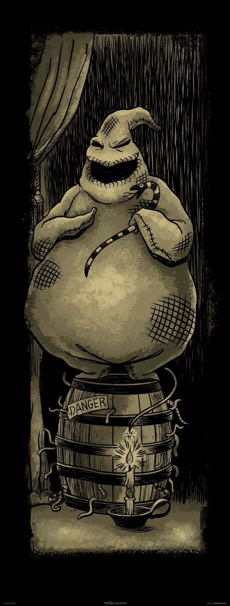 Get this exclusive Oogie Boogie Haunted Mansion Holiday