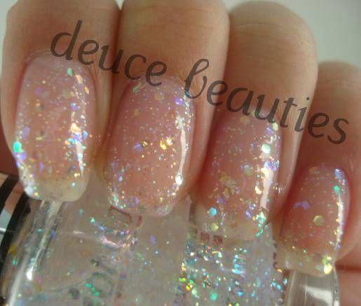 Best Clear Glitter Nail Polish Pics