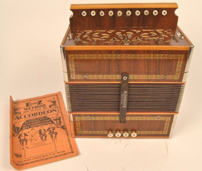 1920s Hohner One Row Button Accordion On Sounds Of Music