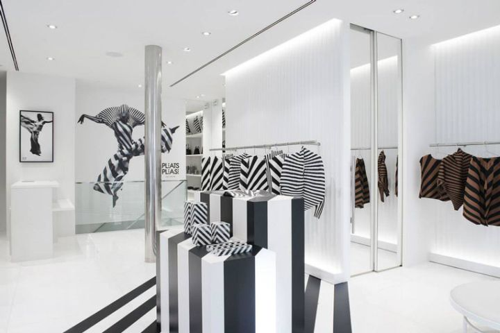 Pleats Please Issey Miyake Store By Hisaaki Hirawata, Paris U2013 France »  Retail Design Blog