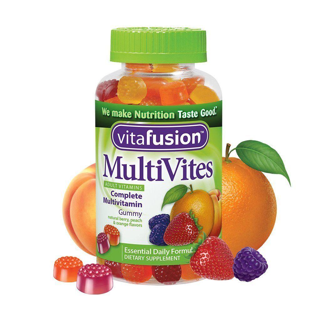 Vitafusion gummy adult vitamins