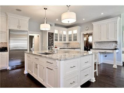 476114991826774327 White Kitchen Cabinets Marble Island Dark