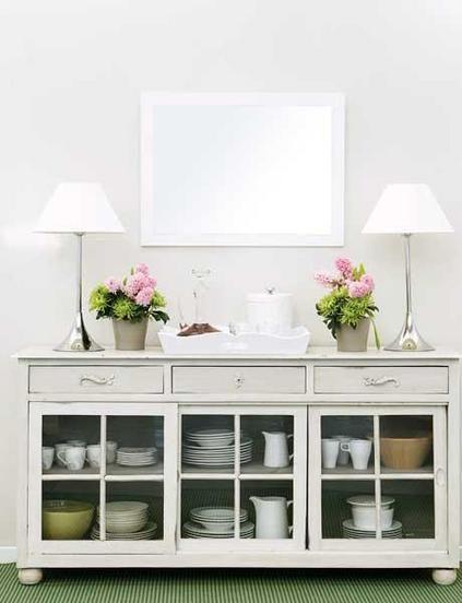 Prácticos aparadores | Deco&hogar | Home Decor, Decor y Southern ...