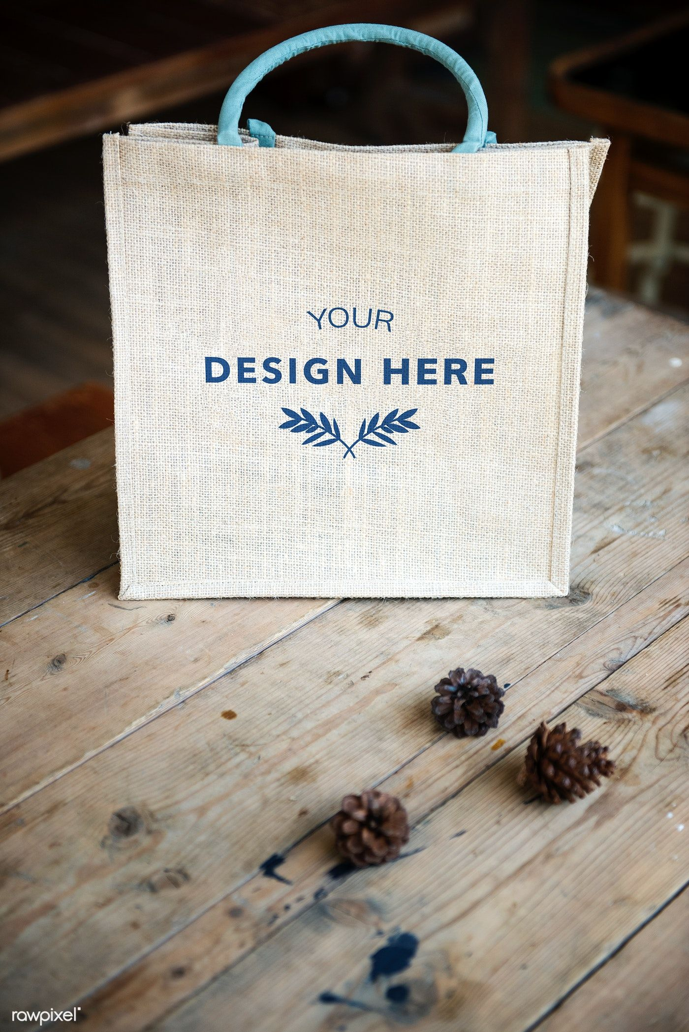 Download Design Space On Blank Tote Bag Premium Image By Rawpixel Com
