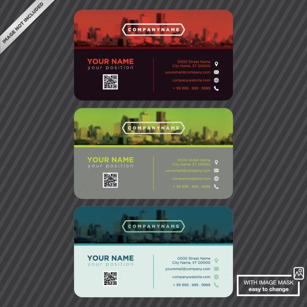 ロゴ入りの名刺テンプレート 無料ベクター graphics and fonts for