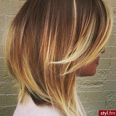 Sombre Na Krótkich Włosach Szukaj W Google Hair Short Hair