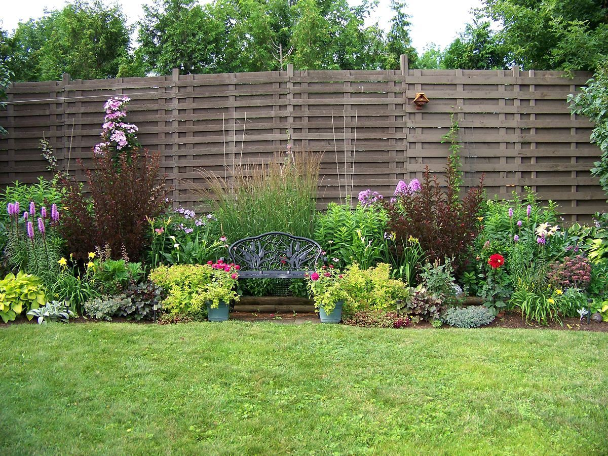 Front Yard Landscaping Ideas With Fence Natural Beautiful Living Outdoor Inspiration 473