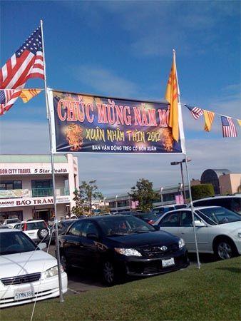 chuc mung nam moi sign in santa ana ca for vietnamese new year