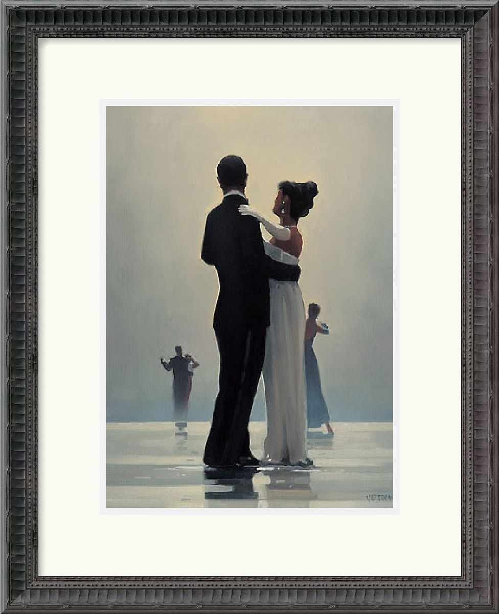 18x22 inch Jack Vettriano Dance Me to the End of Love Framed Print