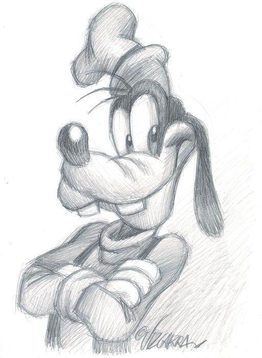 GOOFY par Vizcarra, Joan - dessin original - W.B. - dessin - #Dessin #Goofy #Joan # dessin original #Vizcarra