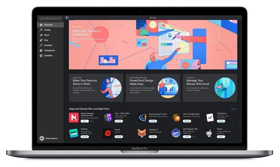 Microsoft Office on Apple's Mac App Store Mac app store