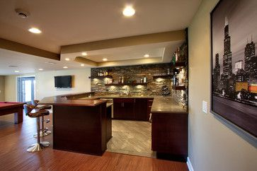 Modern Basement Remodeling Ideas modern home bar area design ideas, pictures, remodel, and decor