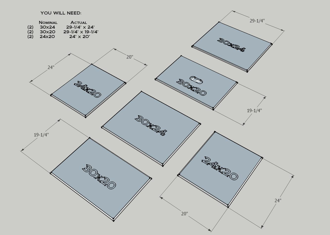 Plyo Box Sides And Dimensions Academia Pinterest Exercicios