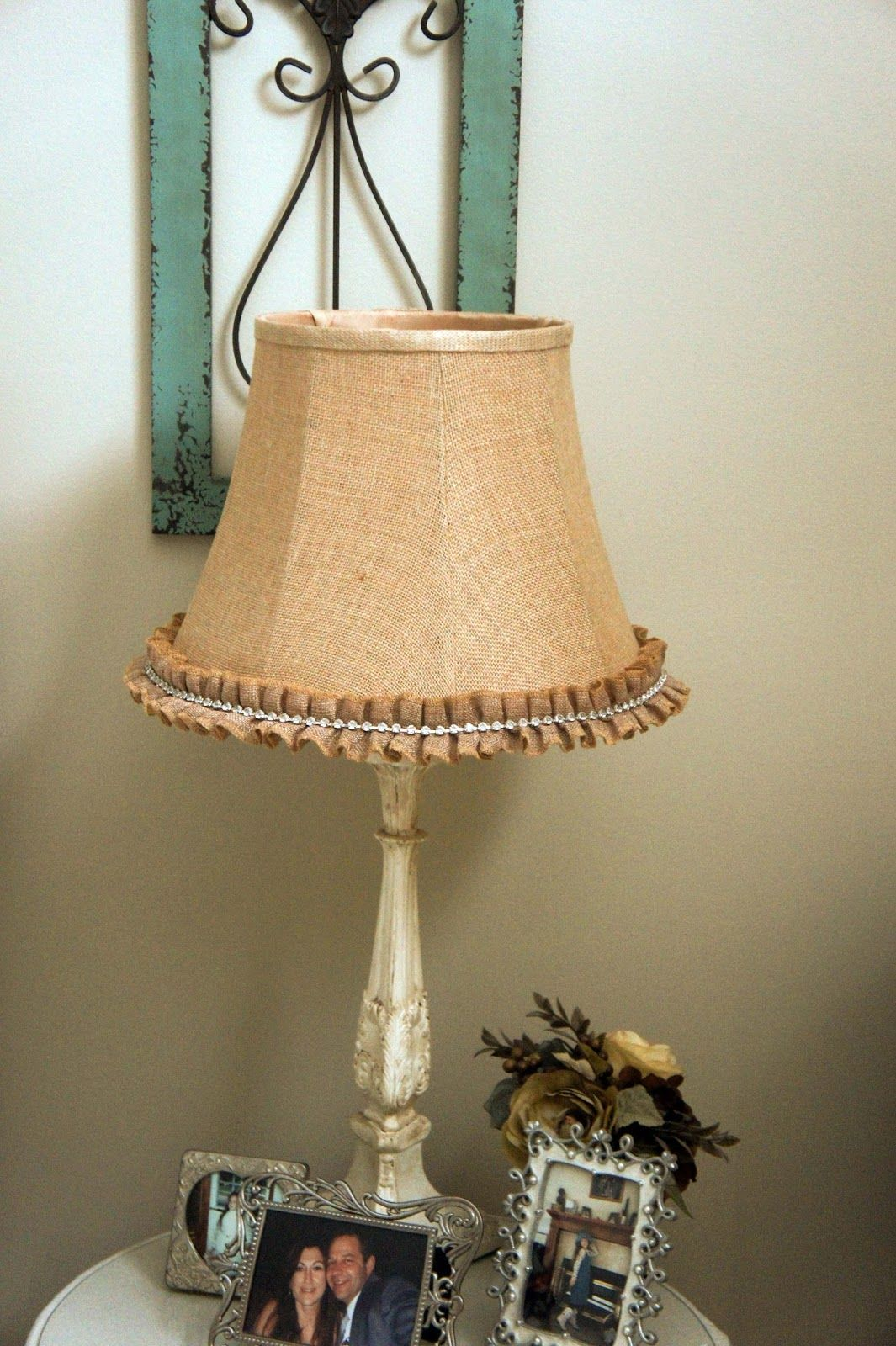 Hobby Lobby Lamp Shades Extraordinary I Just Saw This Burlaprhinestone Trim At Hobby Lobby Today And Inspiration Design