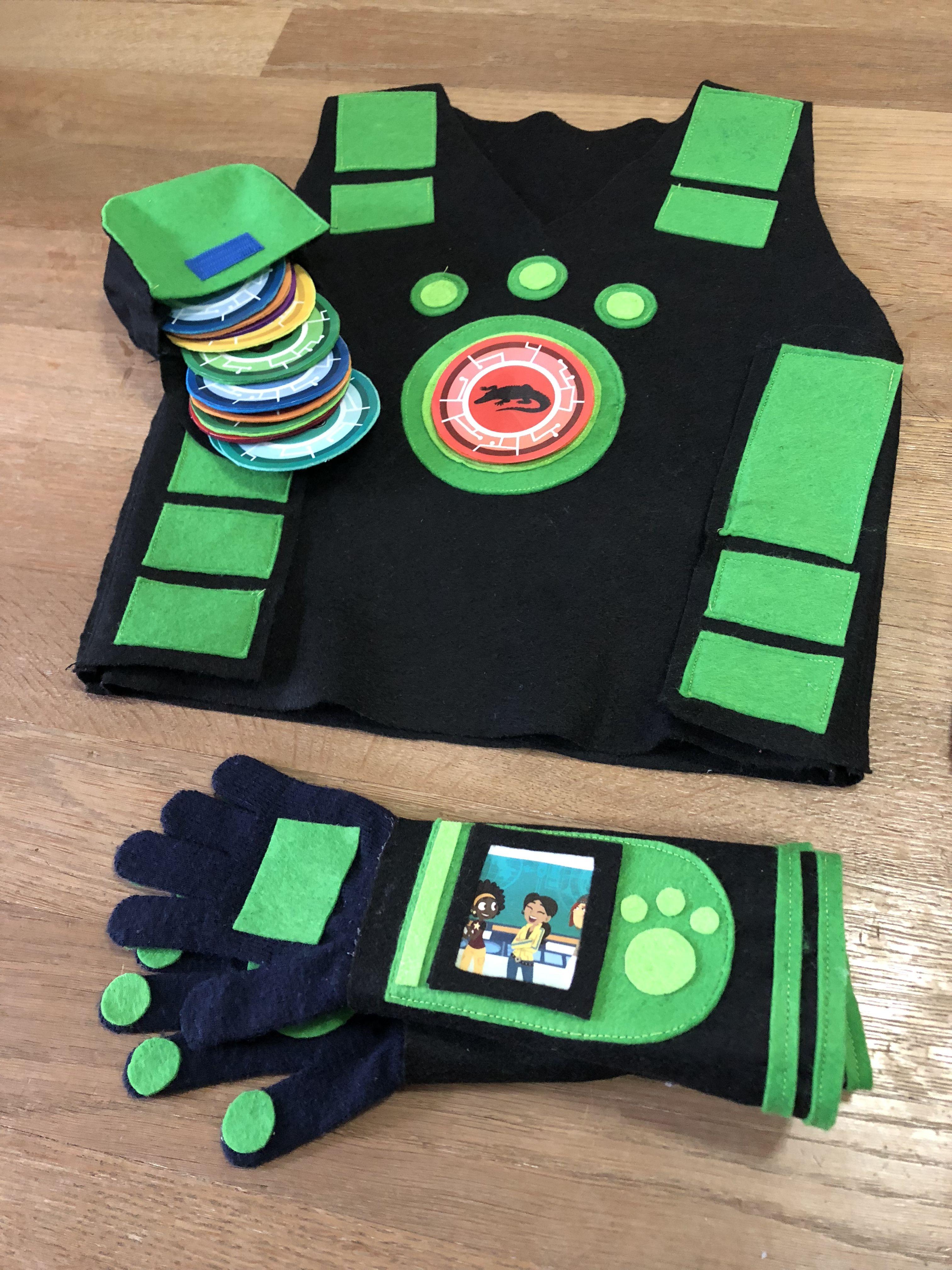 Wild Kratts Halloween 2020 Wild Kratts costume green | Wild kratts costume, Wild kratts