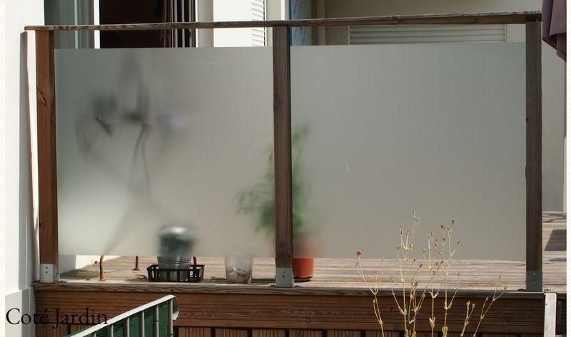 Brise Vue Brise Vent Terrasse Imitation Verre Terrasse Verre Design Terrasse Couverte Brise Vue Pour Balcon