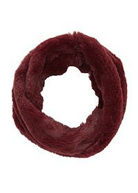 Twisted Faux Fur Infinity Scarf