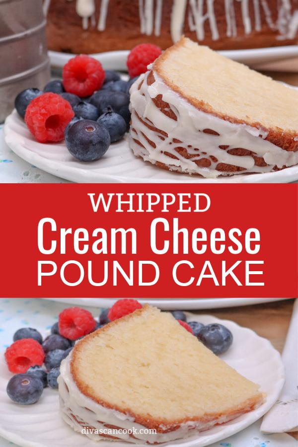 Southern Whipped Cream Cheese Pound Cake Recipe Cream
