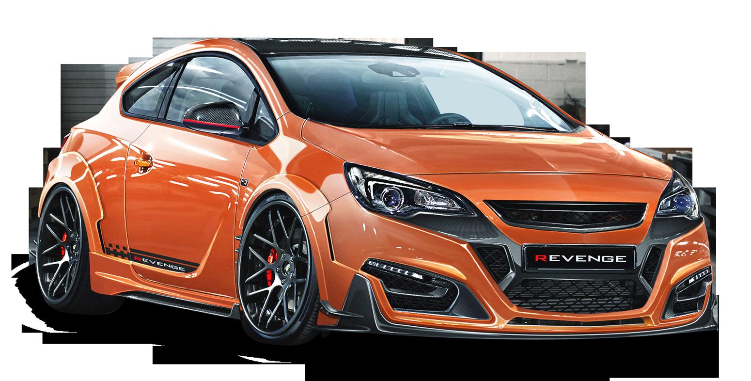 Opel Astra Gtc Revenge Orange Car Png Image Orange Car Vauxhall Motors Vauxhall Astra
