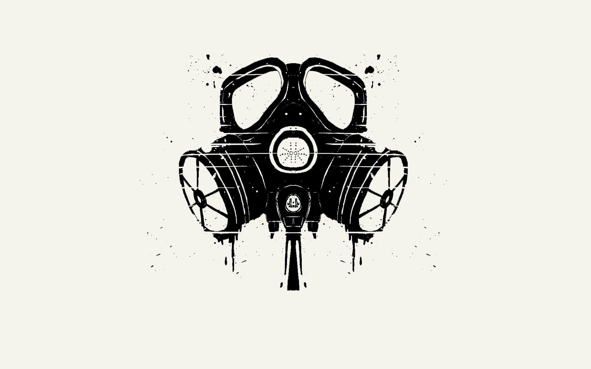 Dark Gas Mask Wallpaper Patterns Wallpapers Gas Mask Art