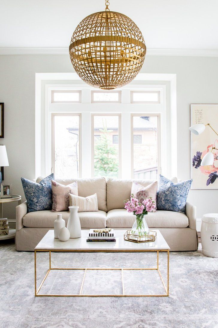 14 Ways To Make a Small Living Room Bigger | Lucite furniture ...