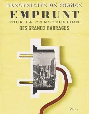 100 Ans D Histoire De L Electricite En 10 Affiches Affiche Affiches Historiques Electricite