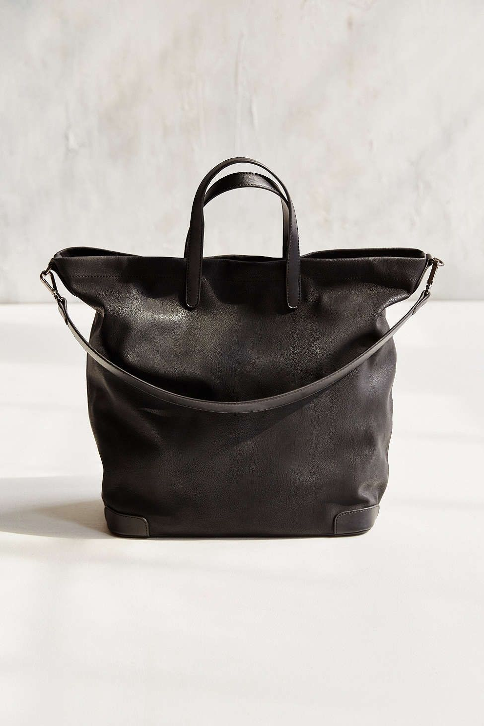 Silence + Noise Structured Base Pebbled Tote Bag  89562a998a491