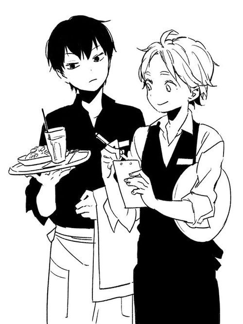 Image about black and white in Haikyuu!! by Psychopathic_Lunatic