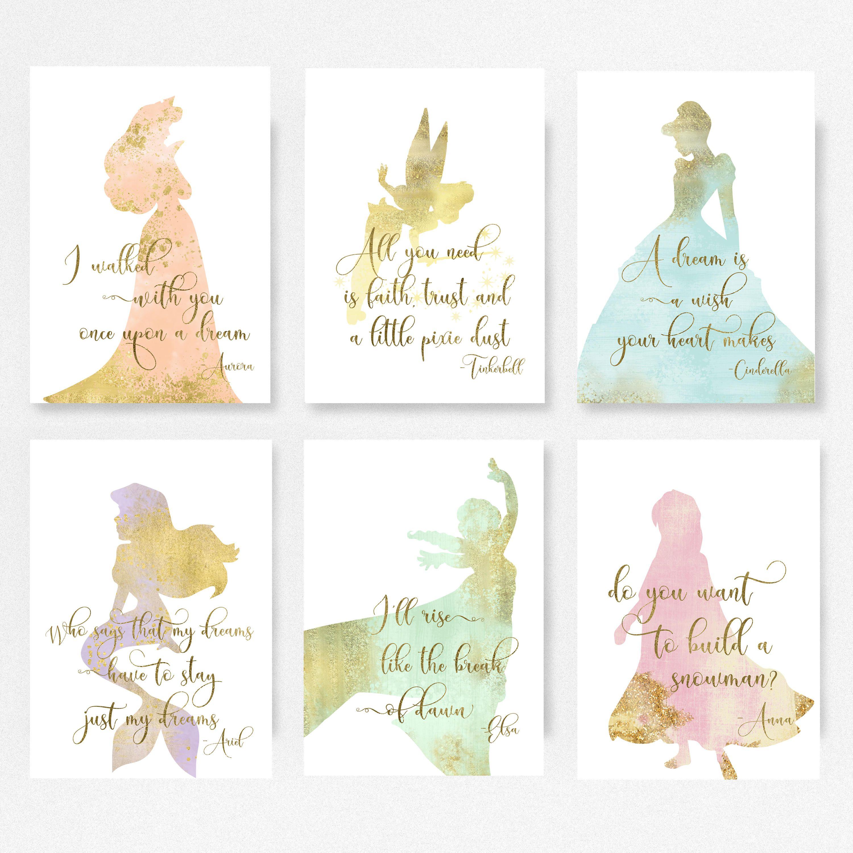 Disney Princess Merida Set Of 6 Princess Nursery Disney Baby