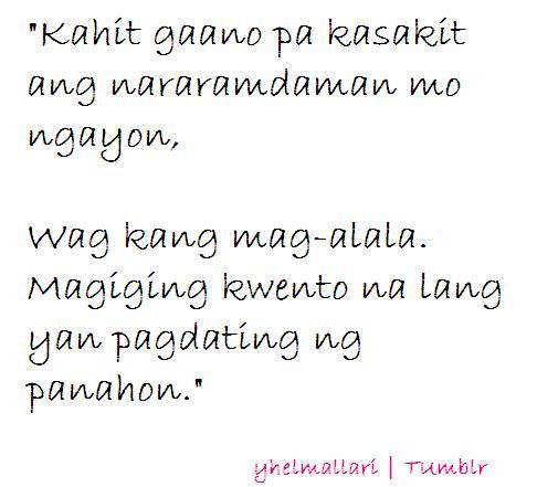 Pagdating ng panahon quotes about life
