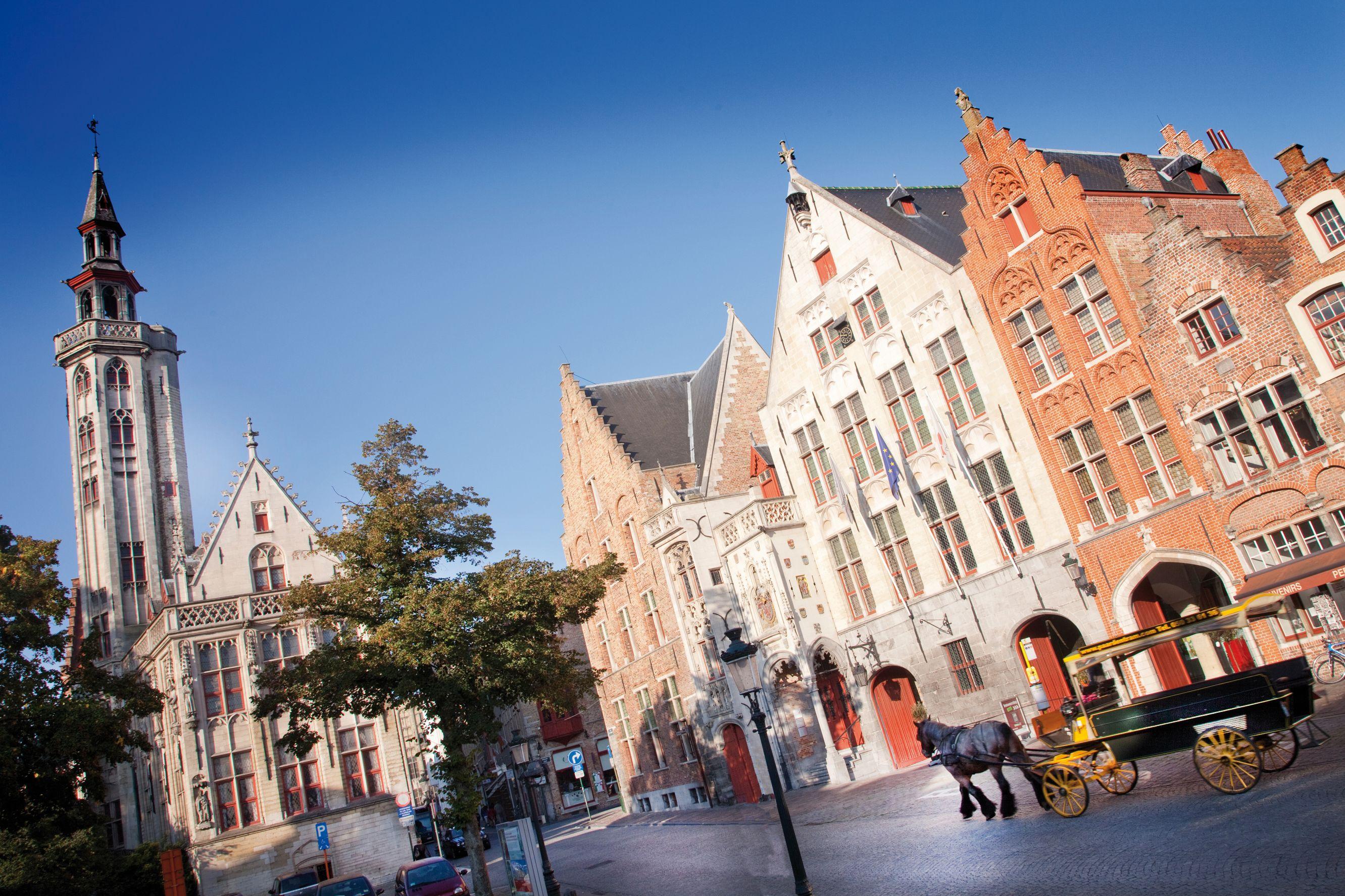 The former Hanseatic quarter (© Toerisme Brugge / Jan D'Hondt)