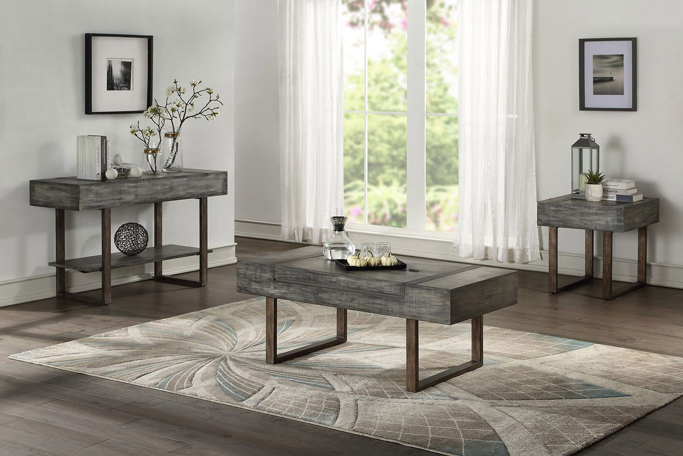 Eduardo Occasional Table Set Coffee Table Occasional Table Table [ 900 x 1349 Pixel ]