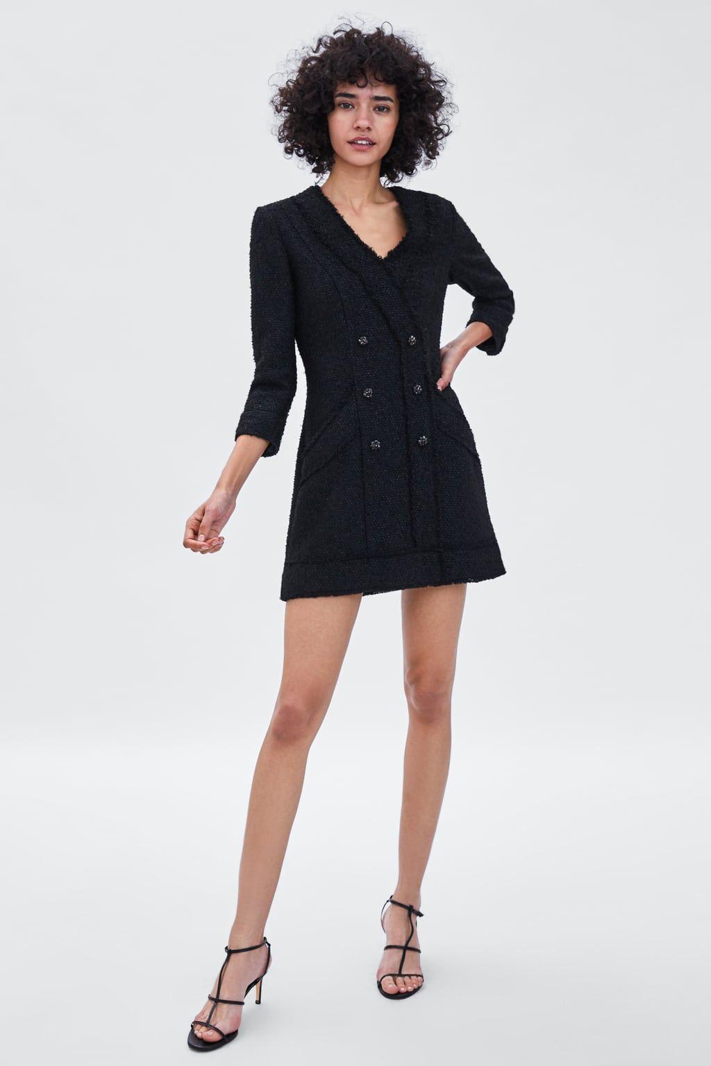 nuovo stile catturare prezzi al dettaglio Image 1 of TWEED BLAZER DRESS from Zara | Spring / Summer ...