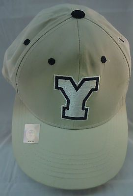Yale Collegiate Sports Ball Cap Hat NEW Tan  012db20417ed