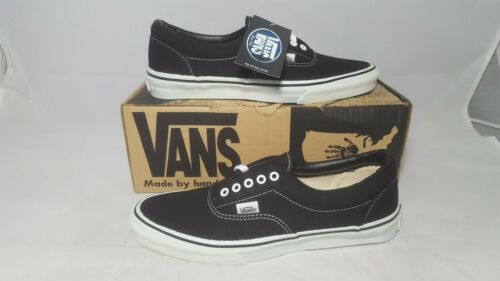 bedf8b18bb Vintage Vans shoes ERA in BLACK made USA Men s Size 10.5 NOS SK8 Hi old  Skool BMX