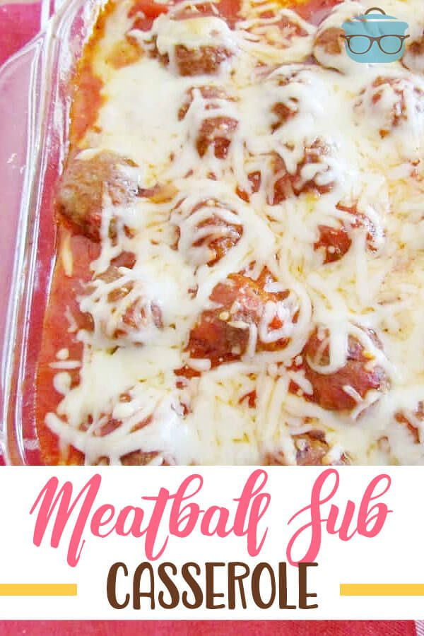 Meatball Sub Casserole images