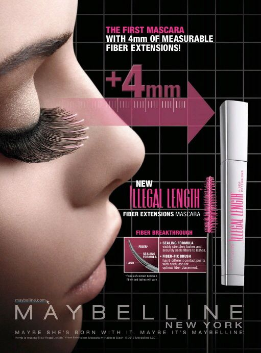 Maybelline Cosmetic Advertising
