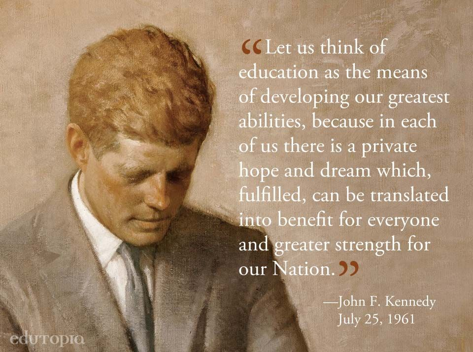 words of inspiration from john f kennedy kennedy quotes
