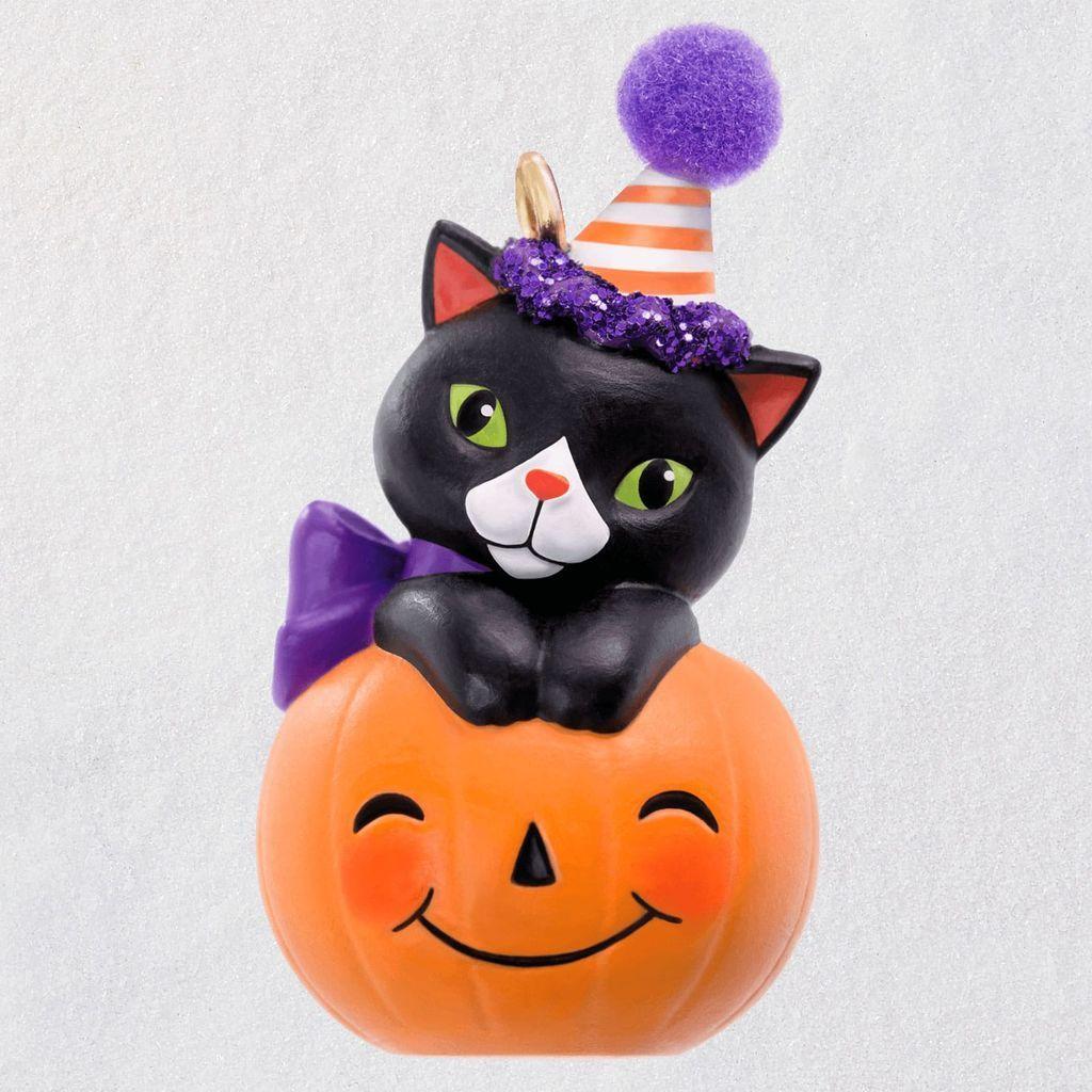 2019 Halloween, Tiny Black Cat Halloween Hallmark Keepsake