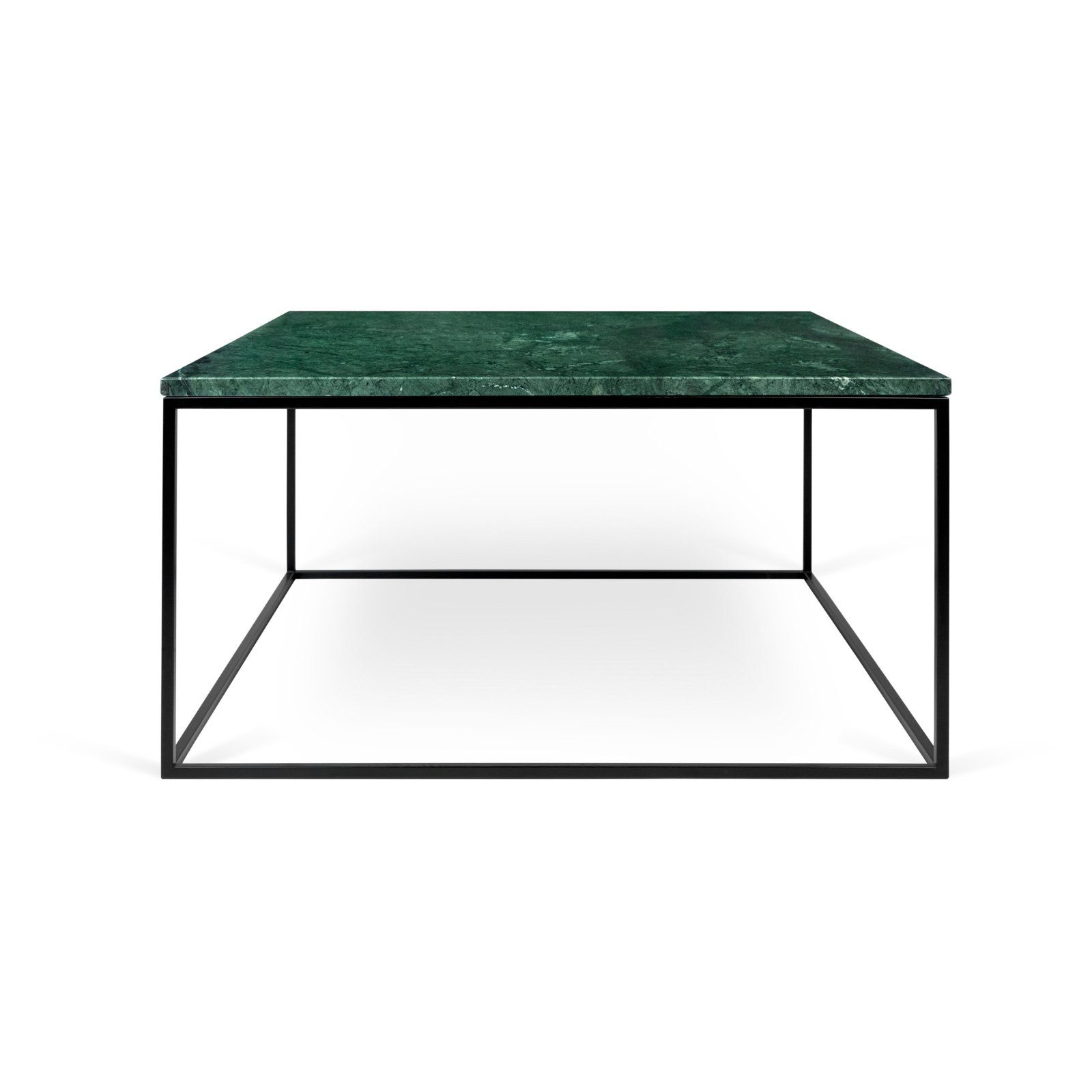 Tema Home Gleam Marble Square Coffee Table Table Living Room