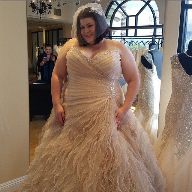 536280fb4b5d4 Plus Size Wedding Dress by Sophia Tolli | Plus Size {Wedding Dresses ...